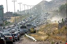 حجم تردد در جاده های کشور 9.7 درصد افزایش یافت