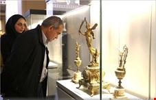 حیرت مسعود پزشکیان از گنجینه های موجود در موزه