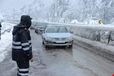بارش برف و باران در جاده های 15 استان ادامه دارد