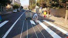 هزینه یک میلیاردی خطکشی چند خیابان در منطقه ۱۵ تهران + جدول