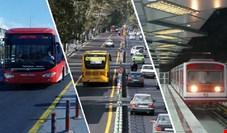 اعلام آخرین ساعت کاری حمل و نقل عمومی در تهران