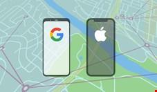 ردیابی بیماران کرونایی با کمک اپل و گوگل
