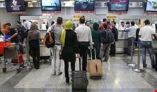 ۵۰ درصد مسافران فرودگاه مهرآباد تا هفته قبل ماسک نداشتند