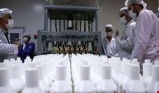 تولید ۳۰۰ هزار لیتر مواد ضدعفونی کننده توسط شستا در هفتهای که گذشت